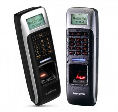 BioLite Net Mifare - Terminal (IP) biométrico de impressão digital para registo de assiduidade e controlo de acessos