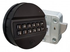 PULSE ABS Teclado ABS TK6430/B/BR + Fechadura UR4020 oscilante Universal Rotobolt. VdS Classe 2 / EN 1300 Class B - UL Tipo 1