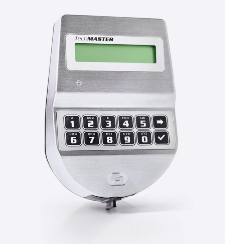 TECHMASTER Teclado T9530 + Fechadura T5300 oscilante. Master, Manager, 89 Users, Override codes. VdS Classe 2 / EN 1300 Class B - UL Tipo 1