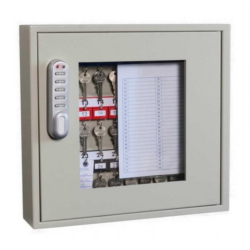 KC0401E - Cofre/armário, porta c/ janela, de proteção e gestão de chaves - 30